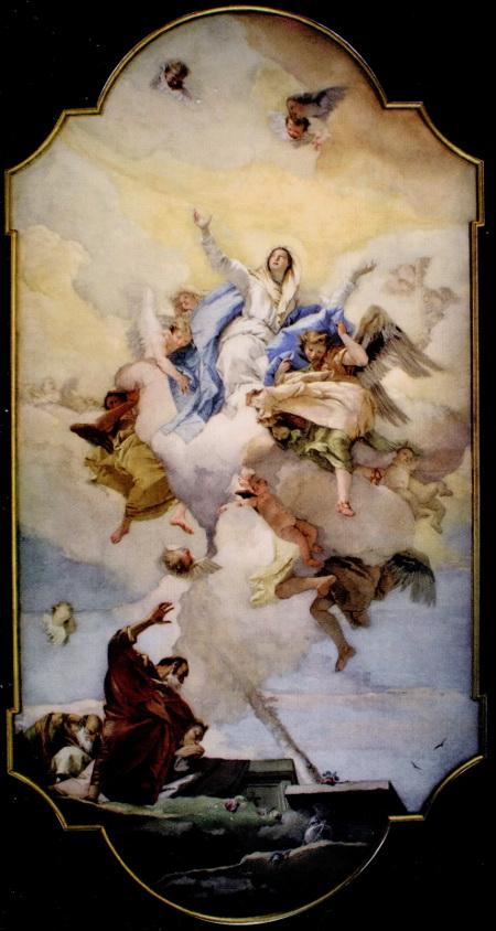 l'Assunzione della Virgine - Oratoria della Purita, Udine