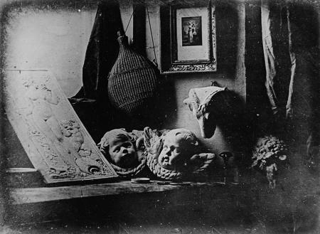 Louis Daguerre, Still life, 1837