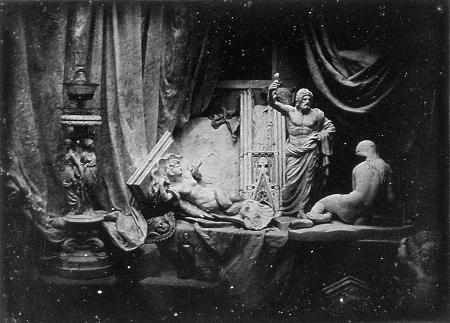 Louis Daguerre, Still life, 1839