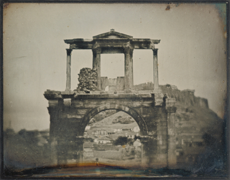 Philippos Margaritis & Philibert Perraud, The Arch of Hadrian, Athens, c. 1846, J. Paul Getty Museum