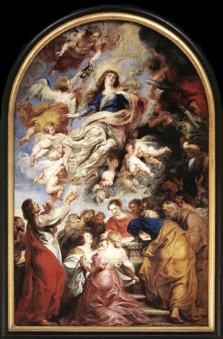 Rubens - De hemelvaart van Maria - 1626