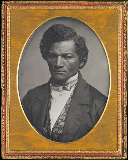Samuel J. Miller, Frederick Douglass, 1852, Daguerreotype. Art Institute of Chicago.