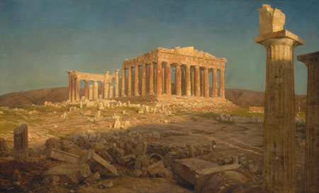 frederick-church-the-parthenon-1871-met
