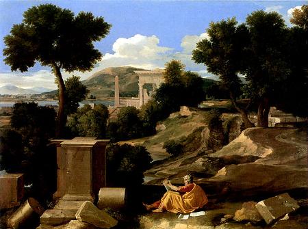 nicholas-poussin-paysage-avec-saint-jean-a-patmos-1640-chicago