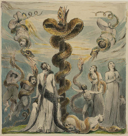 william-blake-moses-erecting-the-brazen-serpent