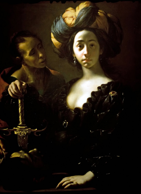 Judith with the Head of Holofernes, Francesco del Cairo