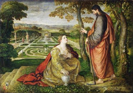 Lambert Sustris, Noli Me Tangere, 1548-53
