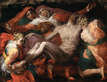 Rosso Fiorentino, Pieta