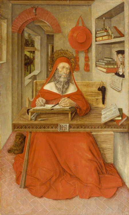 Antonio_da_Fabriano_II_-_Saint_Jerome_in_His_Study_-_Walters