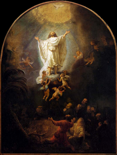 Rembrandt, Ascension, 1636