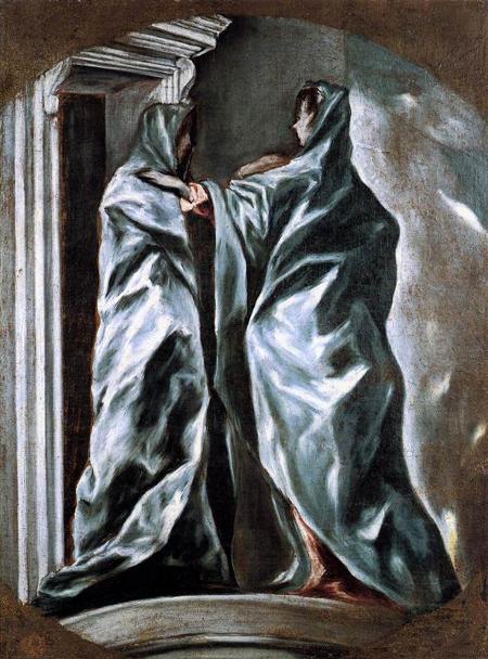 Greco, Visitation, c1610