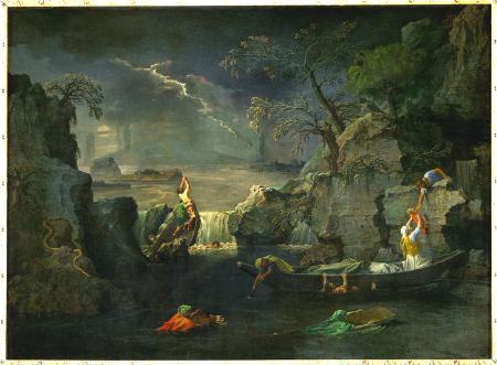 Poussin, Deluge