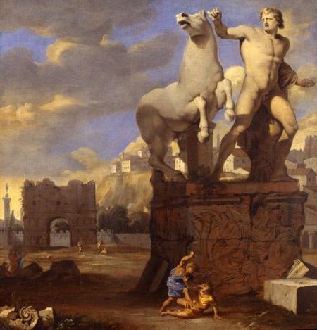 Thomas Blanchet, meurtre de Remus par Romulus